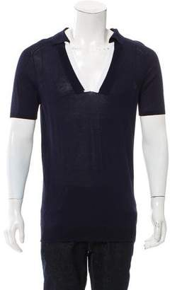 Bottega Veneta Short Sleeve Polo Shirt w/ Tags