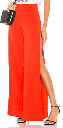 Lovers + Friends X REVOLVE Take It Higher Pant in Red $138 thestylecure.com