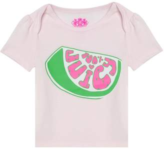 Juicy Couture 100% Juicy Short Sleeve Tee for Baby