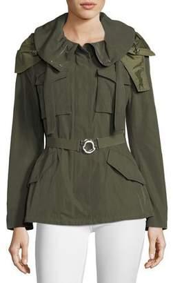 Moncler Sodalite Safari Belted Jacket