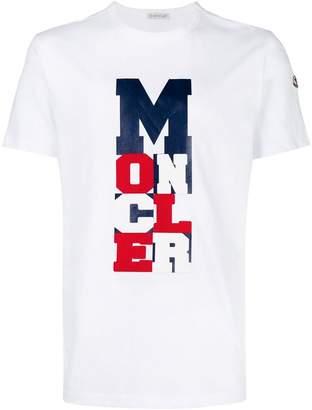 Moncler graphic logo print T-shirt