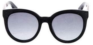 Gucci Oversize Glitter Sunglasses