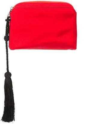 The Row tassel clutch bag