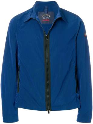 Paul & Shark zipped fitted jacket