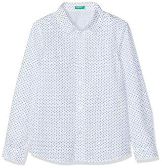 Benetton Boy's Casual ShirtOne (Size: X-Large)