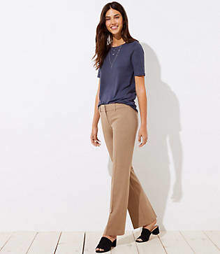 LOFT Petite Trousers in Custom Stretch in Marisa Fit