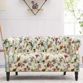Andover Mills Chesterfield Loveseat
