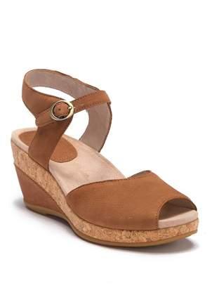 Dansko Charlotte Wedge Ankle Strap Sandal