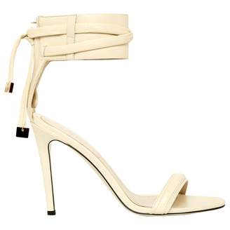 Jason Wu White Leather High Heel