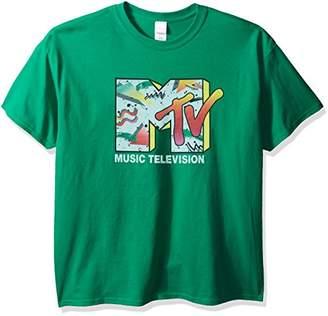Nickelodeon Men's MTV Retro Logo T-Shirt