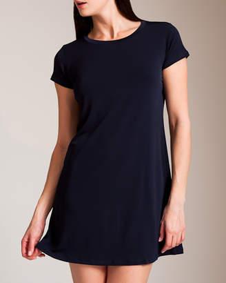 Karla Colletto Resortwear Round Neck Dress
