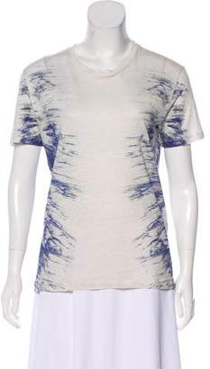 IRO Printed Short Sleeve Shirt