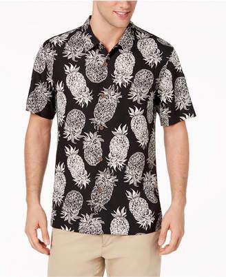Tommy Bahama Men's Piña Piñata Pineapple-Print Silk Camp Shirt