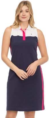 Izod Women's Colorblock Polo Dress