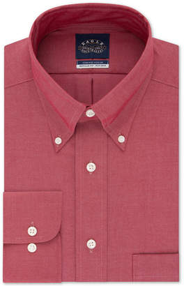 Eagle Men Big & Tall Classic-Fit Stretch Collar Non-Iron Solid Dress Shirt