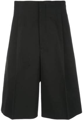 Jil Sander tailored wide leg shorts