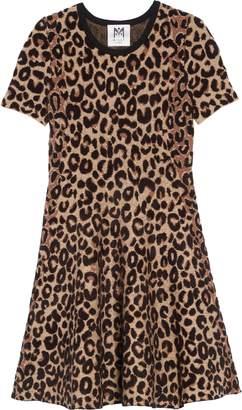 Milly Minis Cheetah Print Skater Dress