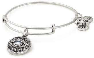Alex and Ani Evil Eye Expandable Wire Bangle