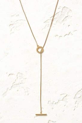Jenny Bird Gold Mimi Lariat Necklace