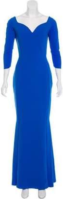 Chiara Boni Long Sleeve Maxi Dress