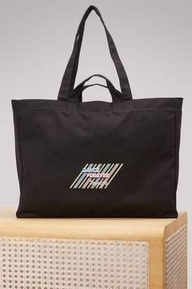 Repetto Logo canvas bag