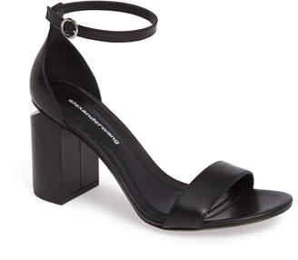 612340c29 Alexander Wang Black Ankle Strap Women's Sandals - ShopStyle