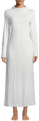 Hanro Liara Long-Sleeve Long Nightgown