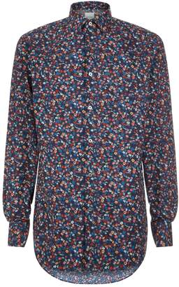 Paul Smith Formal Flower Print Shirt