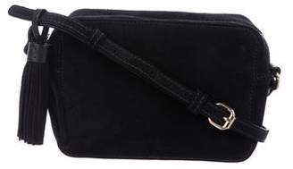 Barneys New York Barney's New York Small Suede Crossbody bag