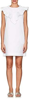 Atlantique Ascoli Women's Ruffle Cotton Shift Dress