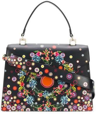 Tosca floral polka dot print shoulder bag