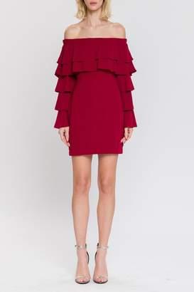 Endless Rose Off-Shoulder Ruffle Dress