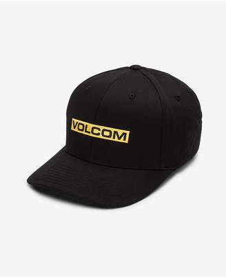 Volcom Men Euro Mark Xfit FlexFit Baseball Cap