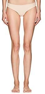 Onia Women's Lilly French Terry Bikini Bottoms-Peach