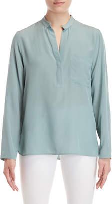 Peserico Silk Long Sleeve Blouse