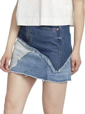 Ella Moss Jackie Denim Mini Skirt