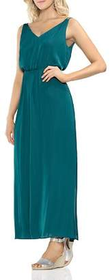 Vince Camuto Double V-Neck Maxi Dress