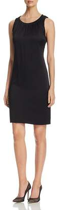 BOSS Daviana Shirred Shift Dress