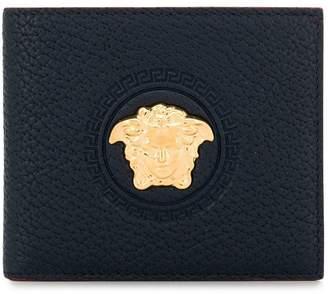 Versace medusa head bifold wallet