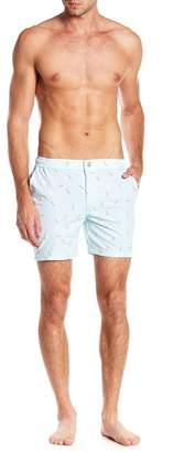 Trunks Mosmann Australia Martini Print Swim Shorts