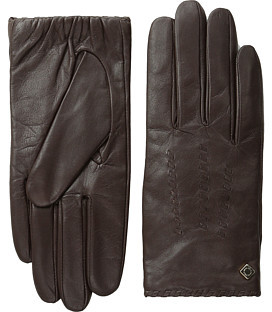 Cole Haan Cole Haan Whipstitch Shortie Leather Glove