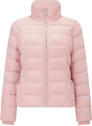 Miss Selfridge Pink Puffer Jacket