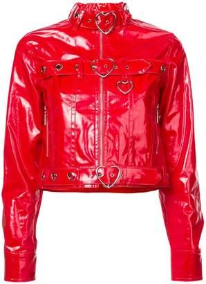 Adam Selman Jean biker jacket