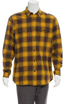 Supreme Plaid Button-Up Shirt
