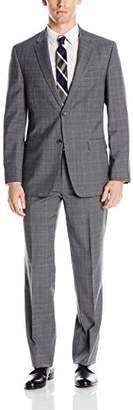 Tommy Hilfiger Men's Vasser Two Button Glen Plaid Suit