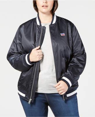Levi's Plus Size Varsity Bomber Jacket
