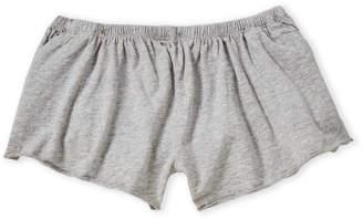 Chaser Girls 7-16) Grey Flowy Knit Shorts