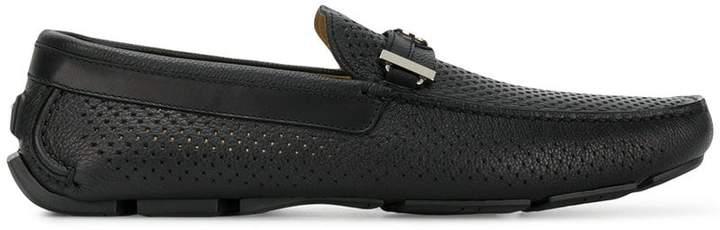 Baldinini classic logo loafers
