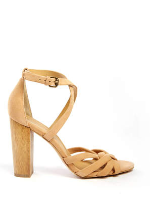 Splendid Faris Knotted Ankle Strap Heel