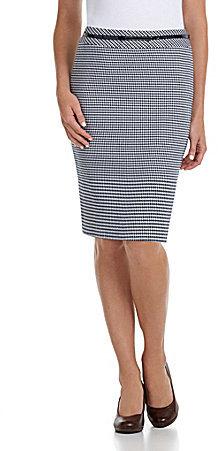 Alex Marie Steffi Houndstooth Skirt